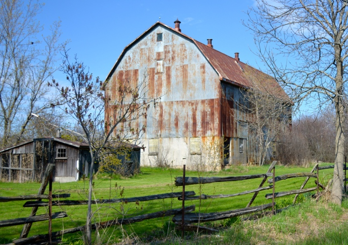 Prince Edward County Barn--Wellington, Ontario