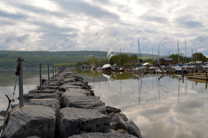 Early morning at the harbour in Watkins Glen