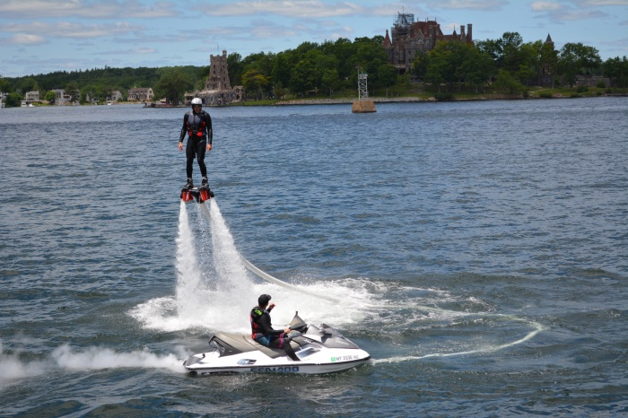 Flyboarding in A-Bay