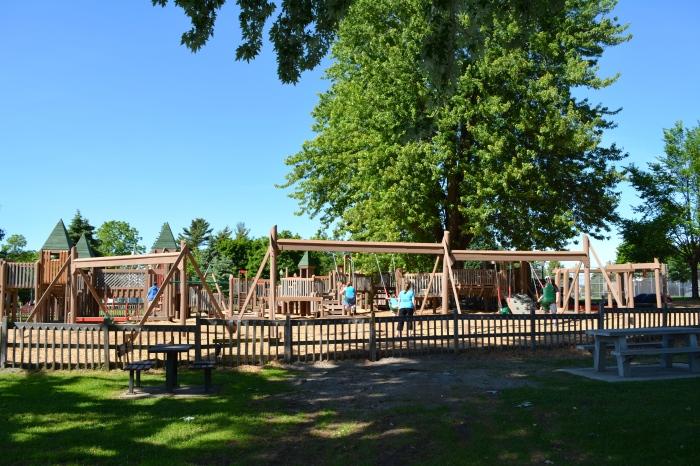 playground, Clayton NY