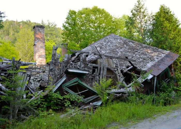 Adirondac abandoned building