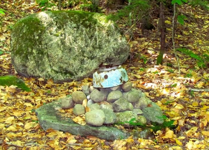 Rock cairn to Seymour Mountain