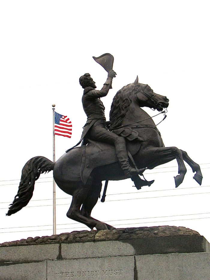 General Andrew jackson, Jackson Square, French Quarter, New Orleans, Louisianna