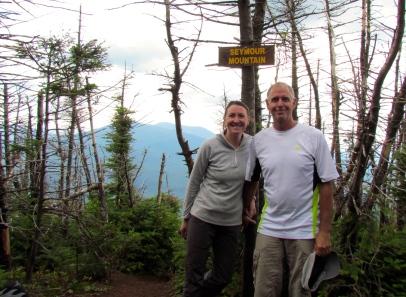 Seymour Mountain summit