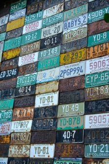 Crested Butte License Plate Art