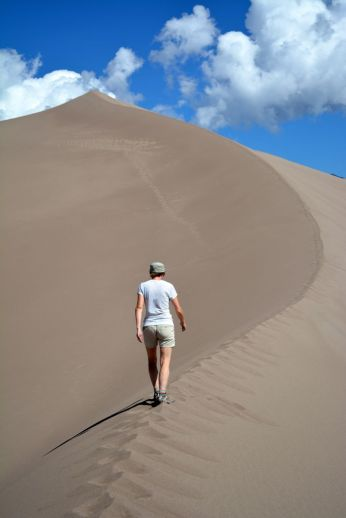 Hiking the Great Sand Dunes National Park