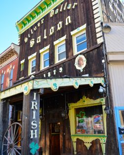 Silver Dollar Saloon dating from 1883 - Leadville
