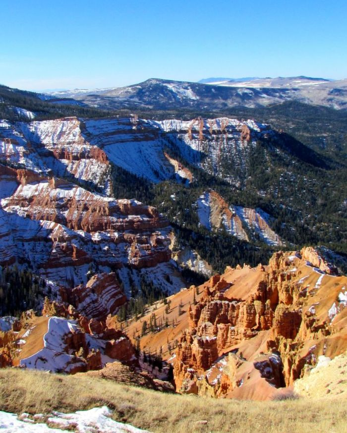 Spectacular views of Cedar Break National Monument