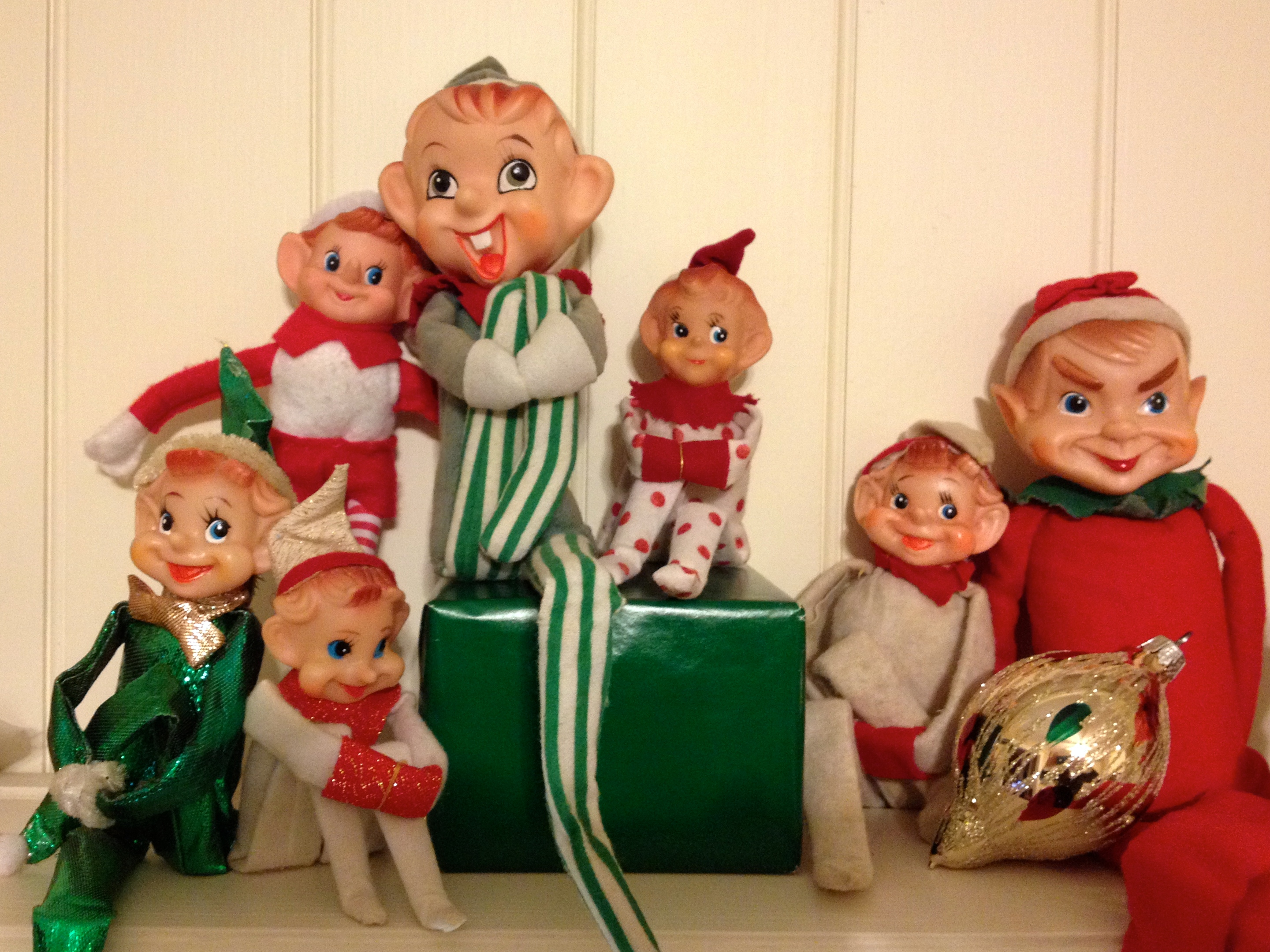 Kitschy Christmas Elves: a Holiday Tradition | White Postcards