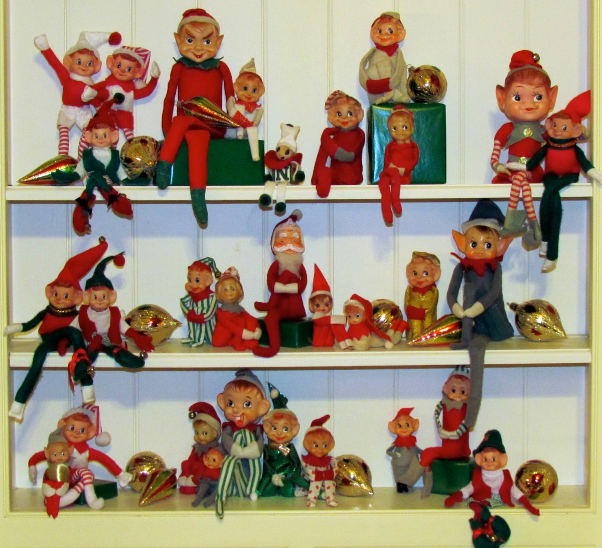 Kitschy Christmas Elves: a Holiday Tradition