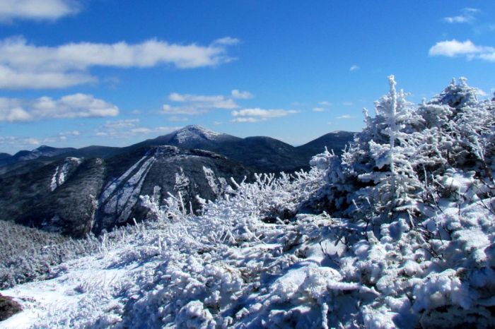 View from the summit of Algonquin Peak