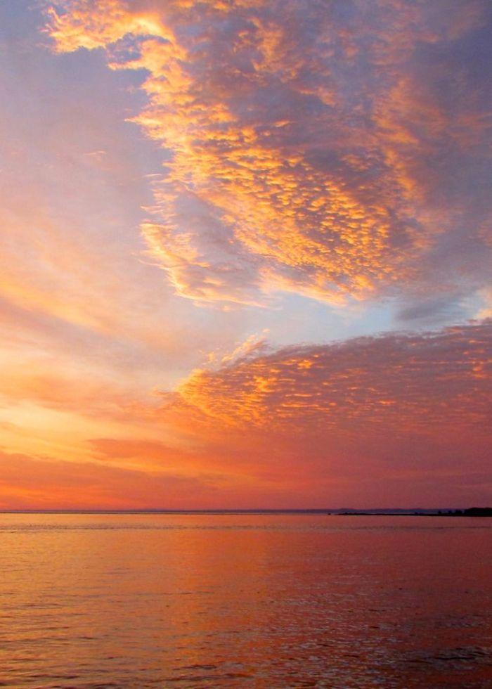 Sunrise at L'isle aux Coudres