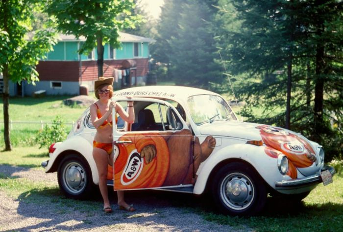 A & W Root Beer Volkswagen