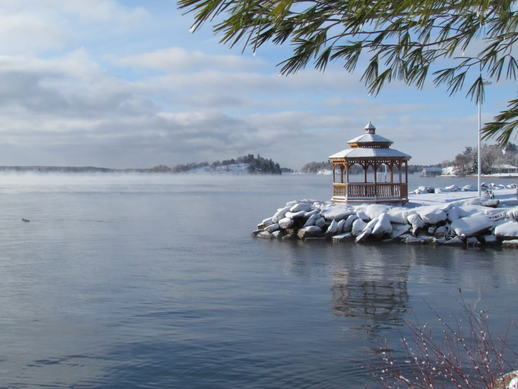 Brockville Yatch Club Gazebo