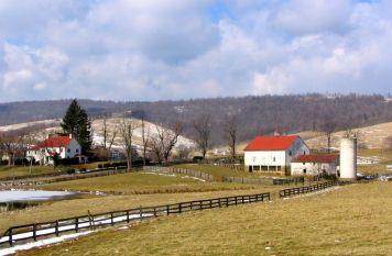 Late winter in the Virginia foothills -- Virginia, U.S.