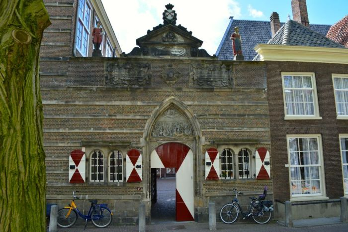 An orphanage dating back to 1583.
