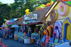 Beach Store along the road in the popular summer destination of Cape Cod, Massachusetts