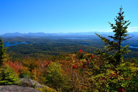 View from St Regis fire tower