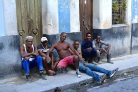 Los muchachos of Havana