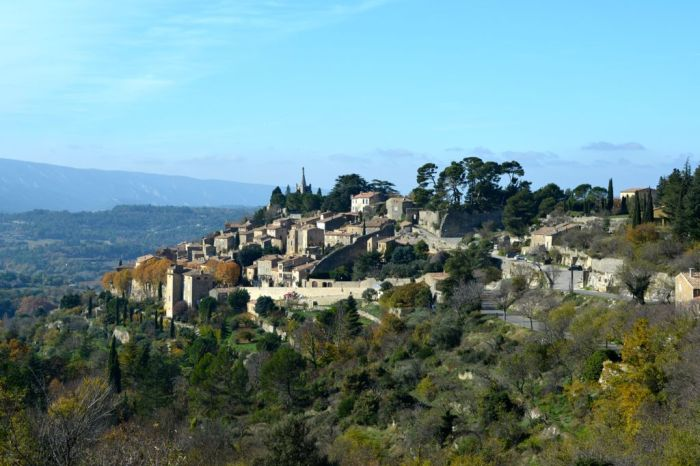 View of Bonnieux