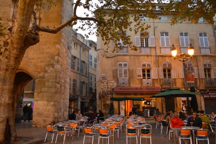 Place de l'horloge, Aix-en-Provence