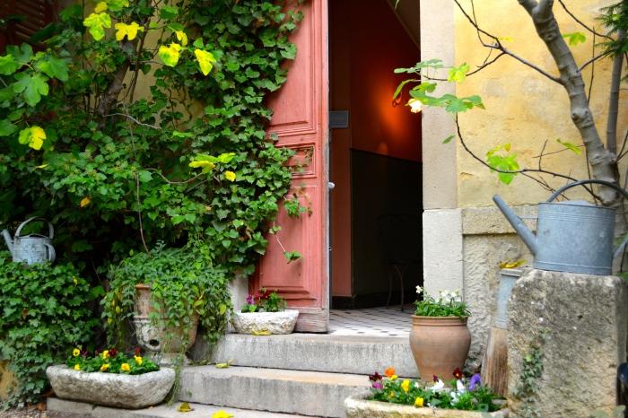 Courtyard Atelier Cezanne