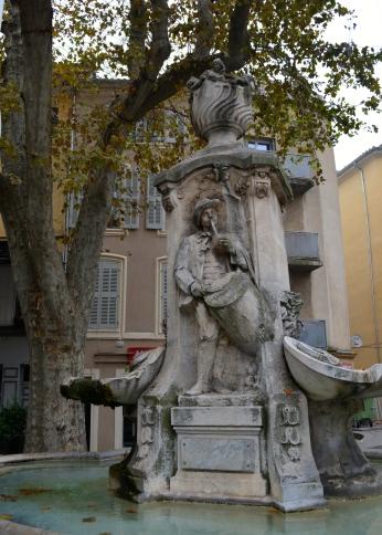 Fountain in Aix-en-Provence