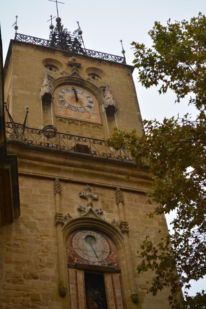 Tour de l'horloge, Aix-en-Provence, France