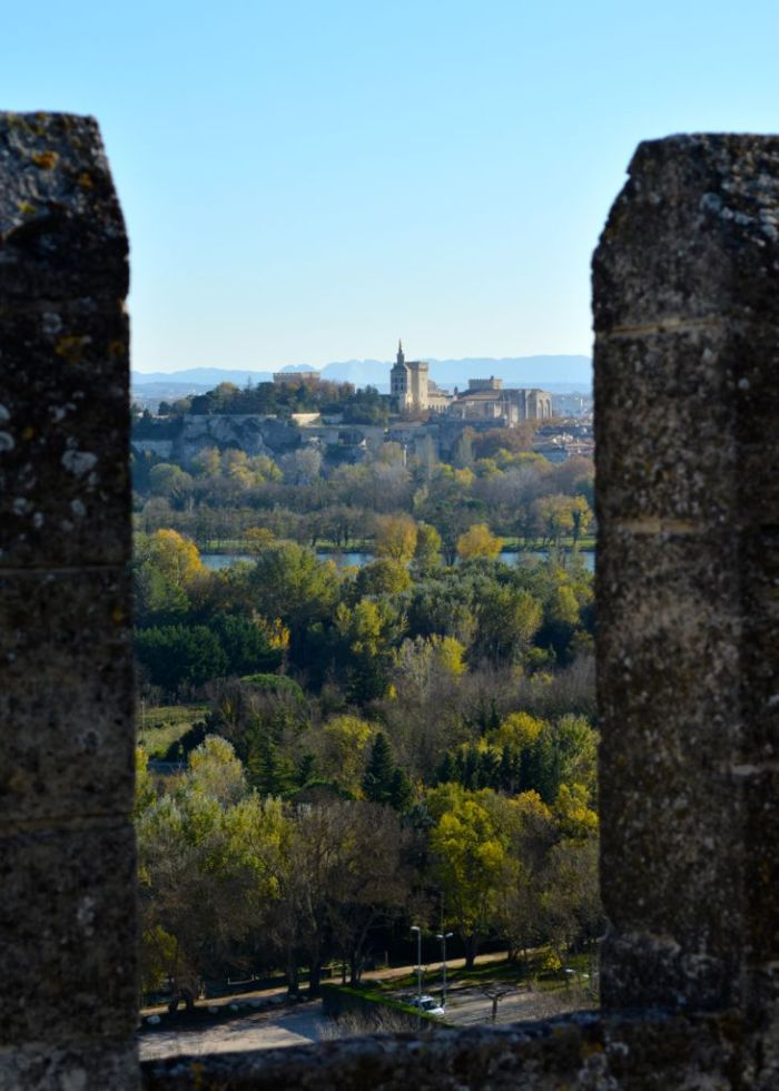 View of Avignon from Fort Sait-André, Villeneuve Lez Avignon