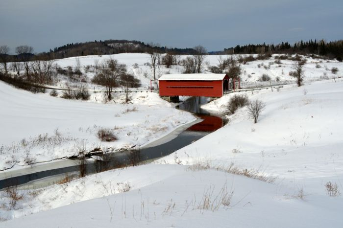 Chelsea Covered Bridge, Meech bridge near Wakefield Quebec