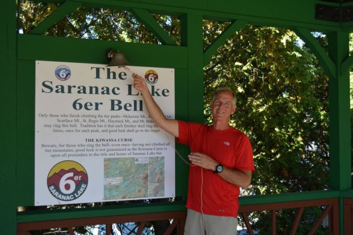 Ringing the bell as an accomplished Saranac Lake 6er