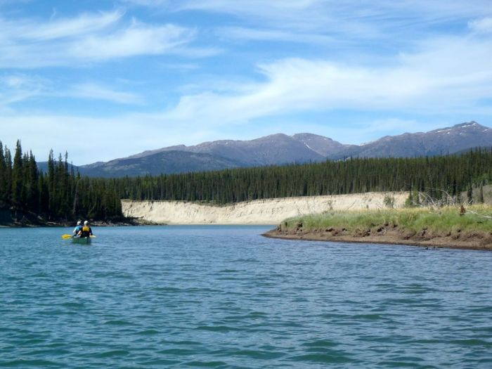 Paddling the Yukon River