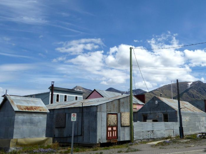 Carcross galvanized buildings