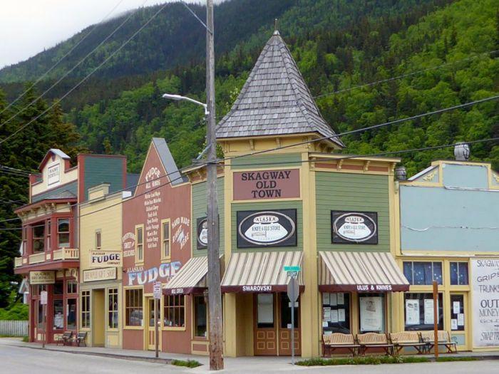 Broadway Street. Skagway, Alaska