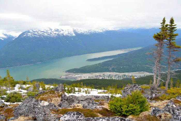 View towards Skagway, Alaska