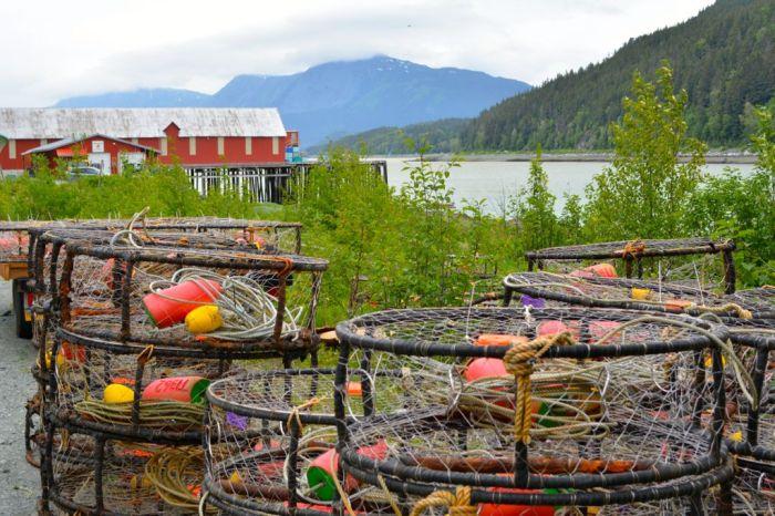 Crab pots, Haines Packing Company, Alaska