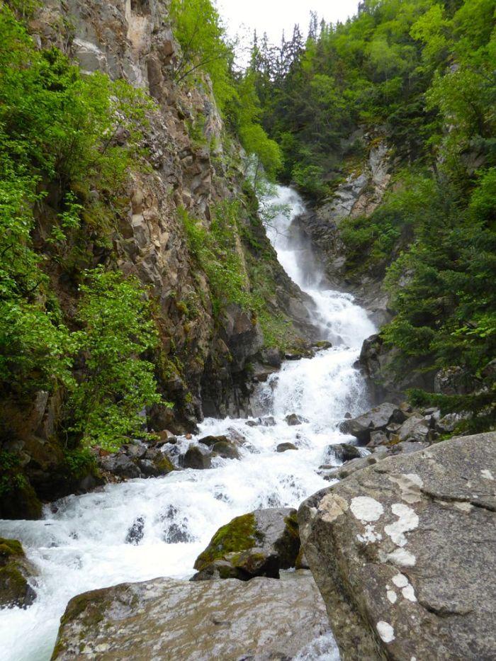 Reed Falls. Skagway, Alaska