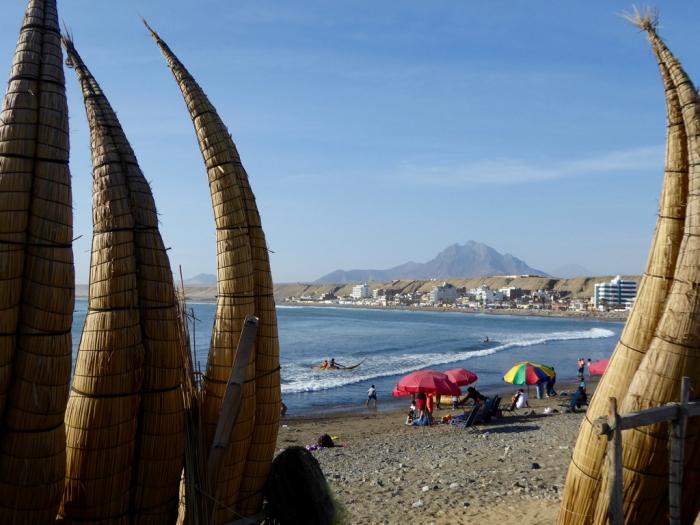 Huanchaco beach, Peru
