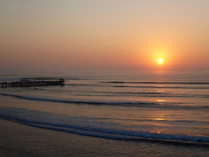 Huanchaco, Peru sunset