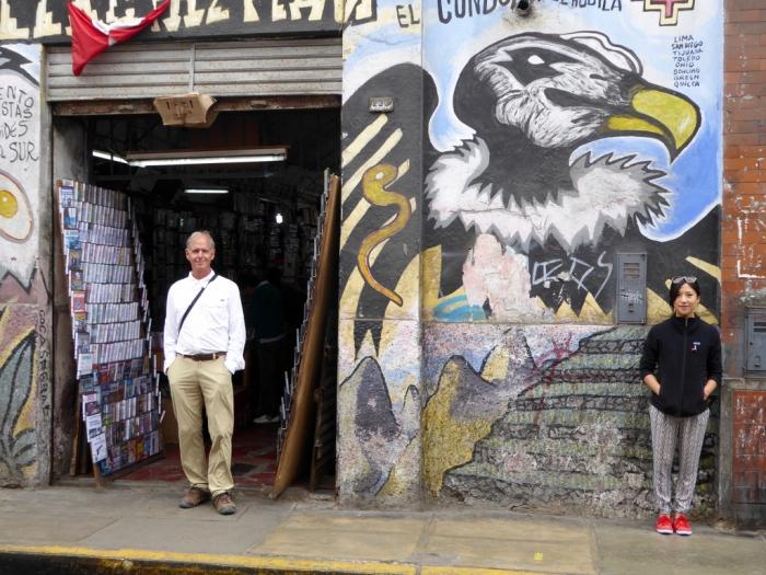 Mural in Lima, Peru