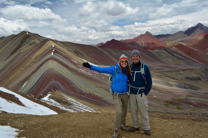 Rainbow Mountain, Peruvian Andes, near Cusco,
