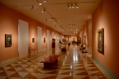 Exhibition hall of the Thyssen-Bornemisza Museum