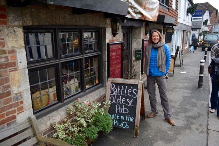 Battle's oldest pub .