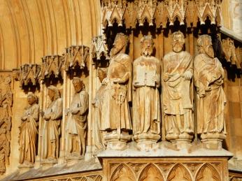 Figures of apostles, Catedral, Vilafranca de Penedes