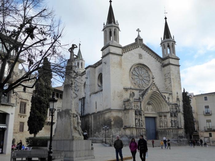 Basílica de Santa Maria (s.XIII). First gothic parish of Catalunya
