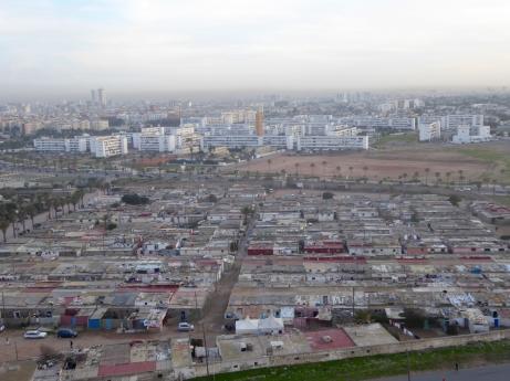 shanty town, bidonville, slum of Casablanca