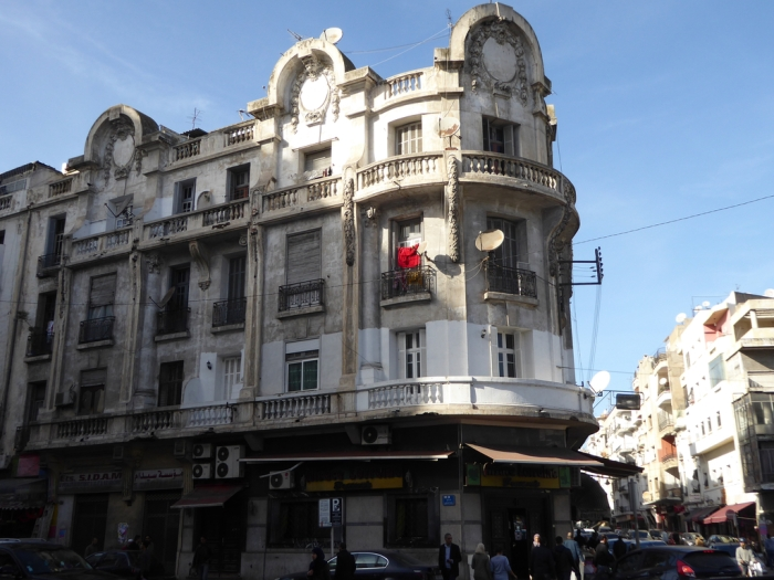 Building in Casablanca