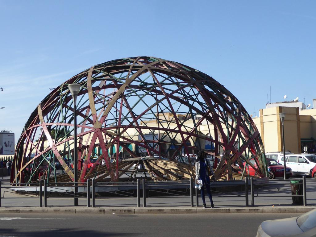 Zevaco Dome, Casablanca, Morocco