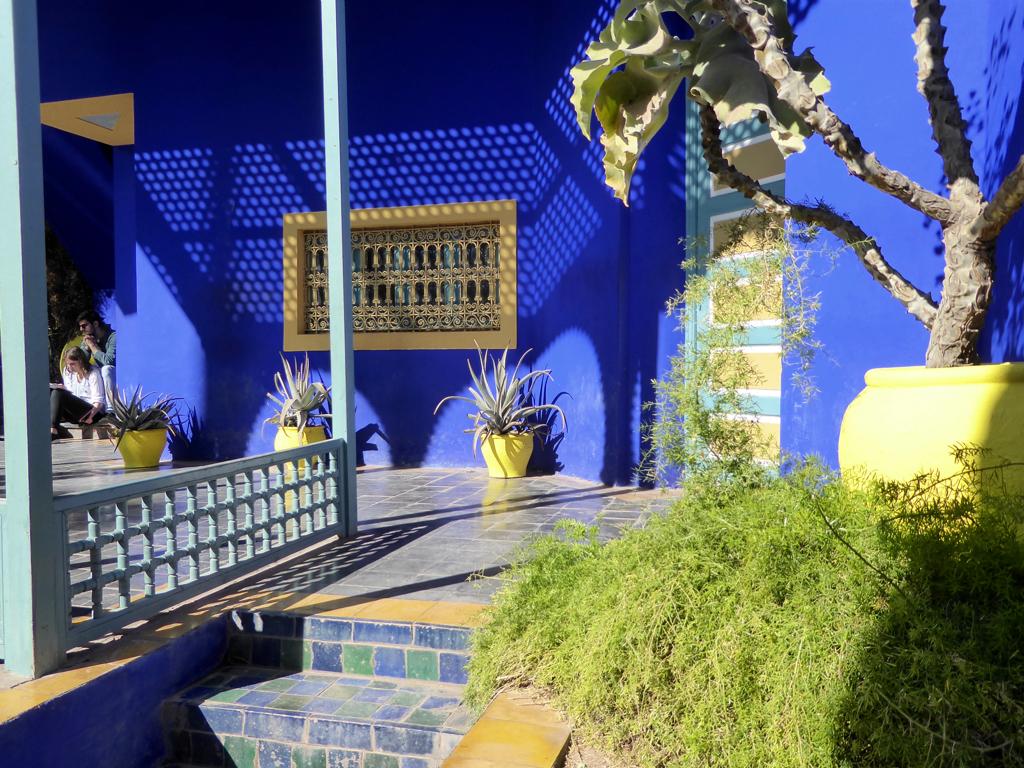 Jardin Majorelle, Yves Saint Laurent, Marrakesh